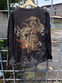 T shirt sukajan naga