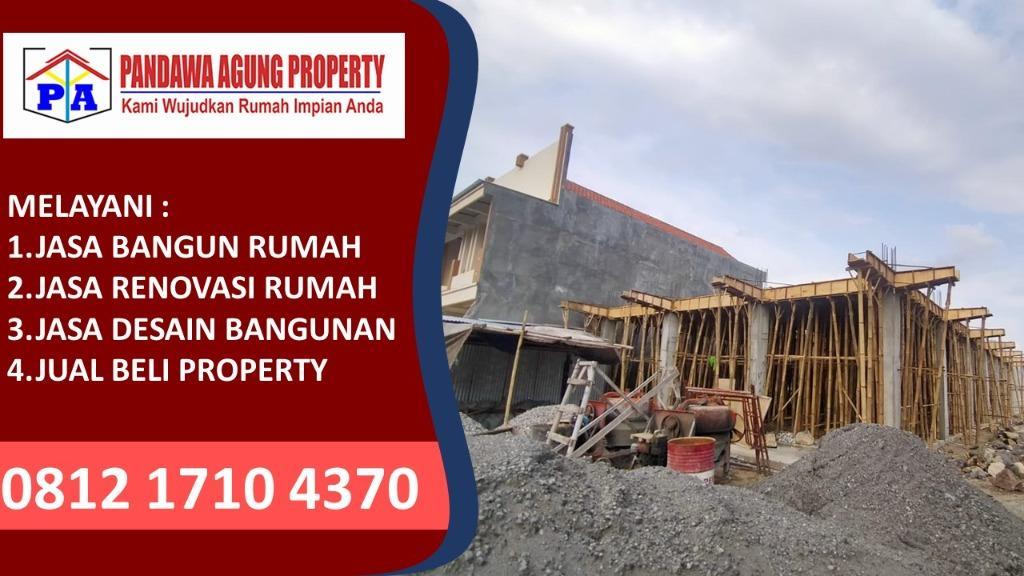 TANPA BANK | 0812-1710-4370 | Jasa Bangun Rumah Luas Tanah 50 Meter di Nganjuk, PANDAWA AGUNG PROPERTY