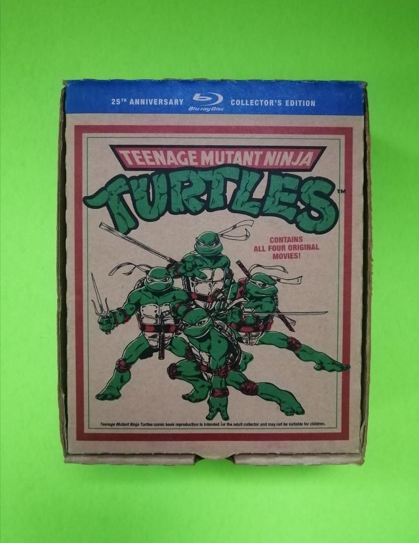 TMNT 25th Anniversary Blu-Ray DVD Boxset