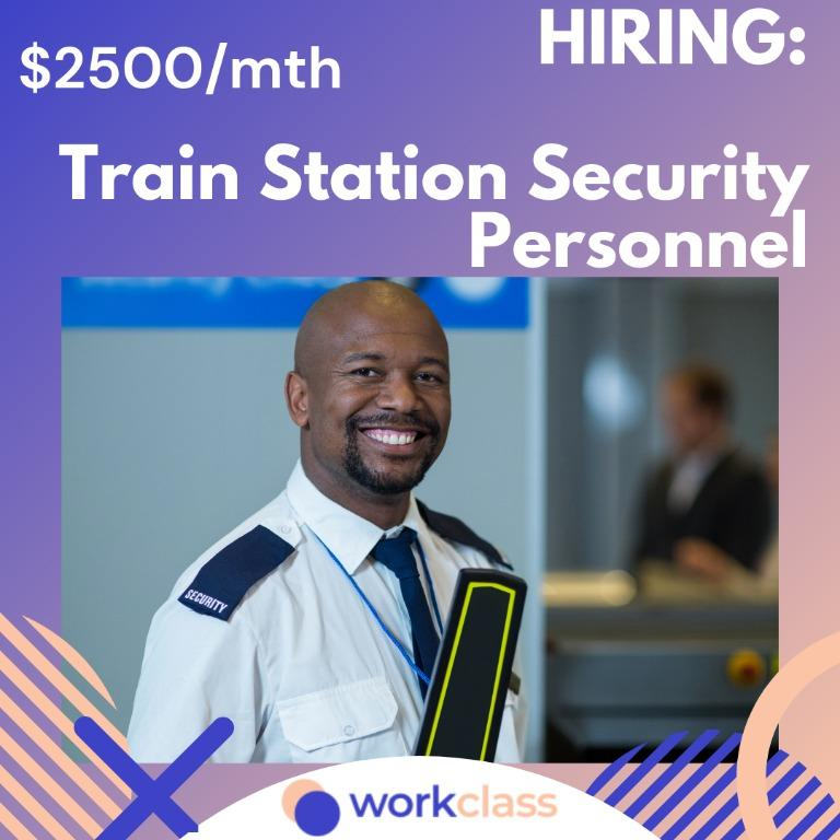 Train Station Security Personnel