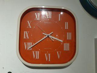 VINTAGE SEIKO WALL CLOCK