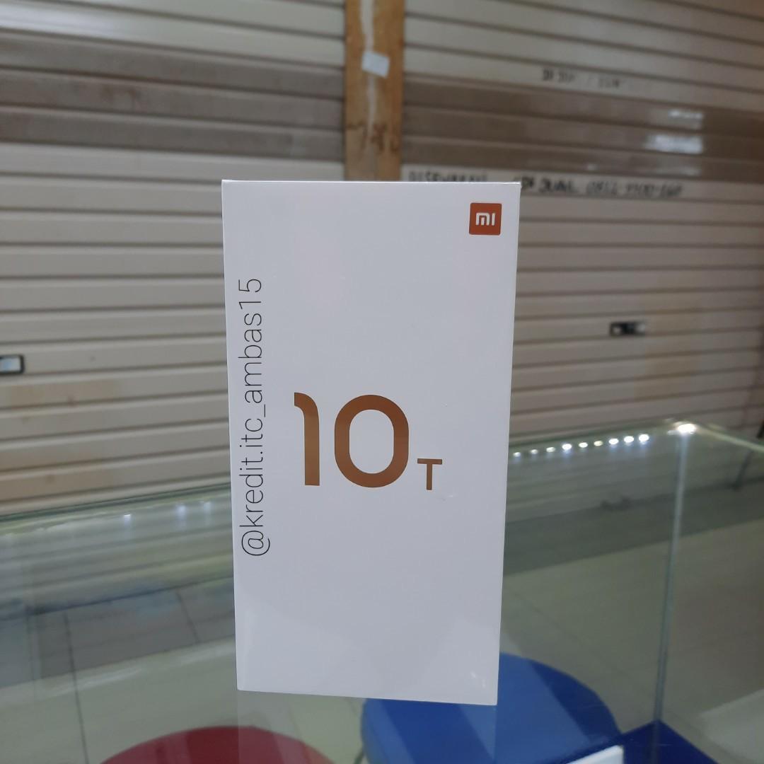 Xiaomi Mi 10T 8/128GB Resmi Tanpa Kartu Kredit DP mulai 10%