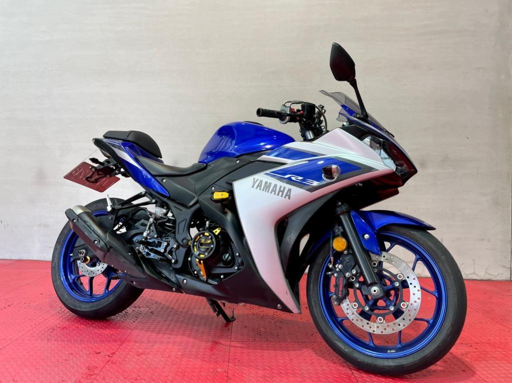 Yamaha Yzf-R3 輕裝路權小霸王