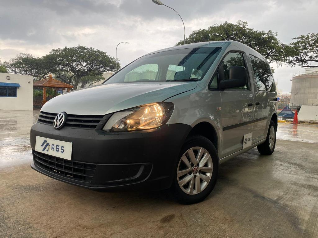 08/14 Volkswagen caddy 1.6 auto