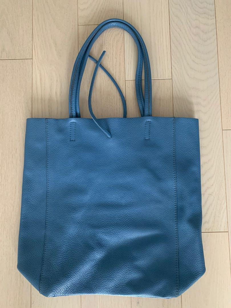 100% genuine leather tote