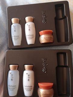 雪花秀旅行護膚套裝2盒六件50