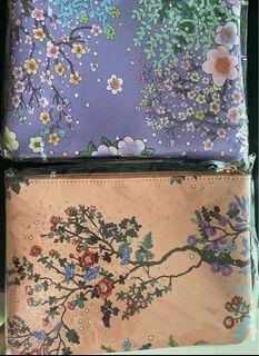 2 Pouch flowers design