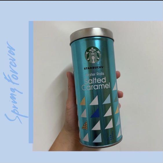 ⭐️星巴克空罐子(粉/藍)