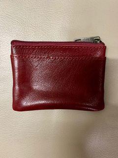 全新意大利🇮🇹羊皮散紙包 (可放鎖匙,信用卡,紙幣,硬幣)