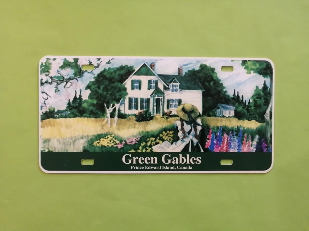 Anne Of Green Gables License Plate