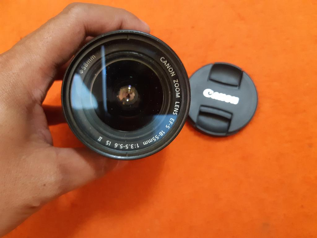Canon Zoon Lens EFS 18-55mm 1:3.5-5.6 IS II