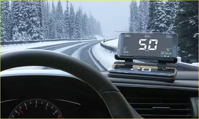 Car 'HUD' Heads Up Mobile Display Mount