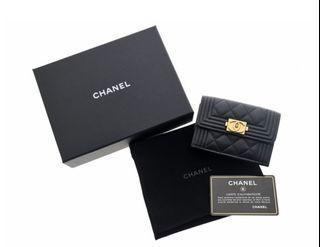 CHANEL BOY CHANEL WALLET