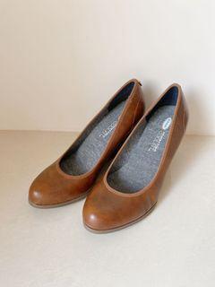 Dr. Scholl's 皮革高跟鞋 27cm 42號 US10