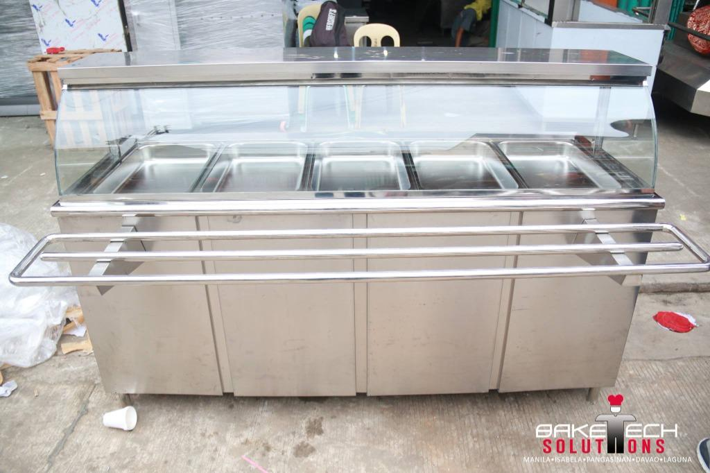Food Display Restaurant Warm and Cold BRAND NEW! 6 Pans