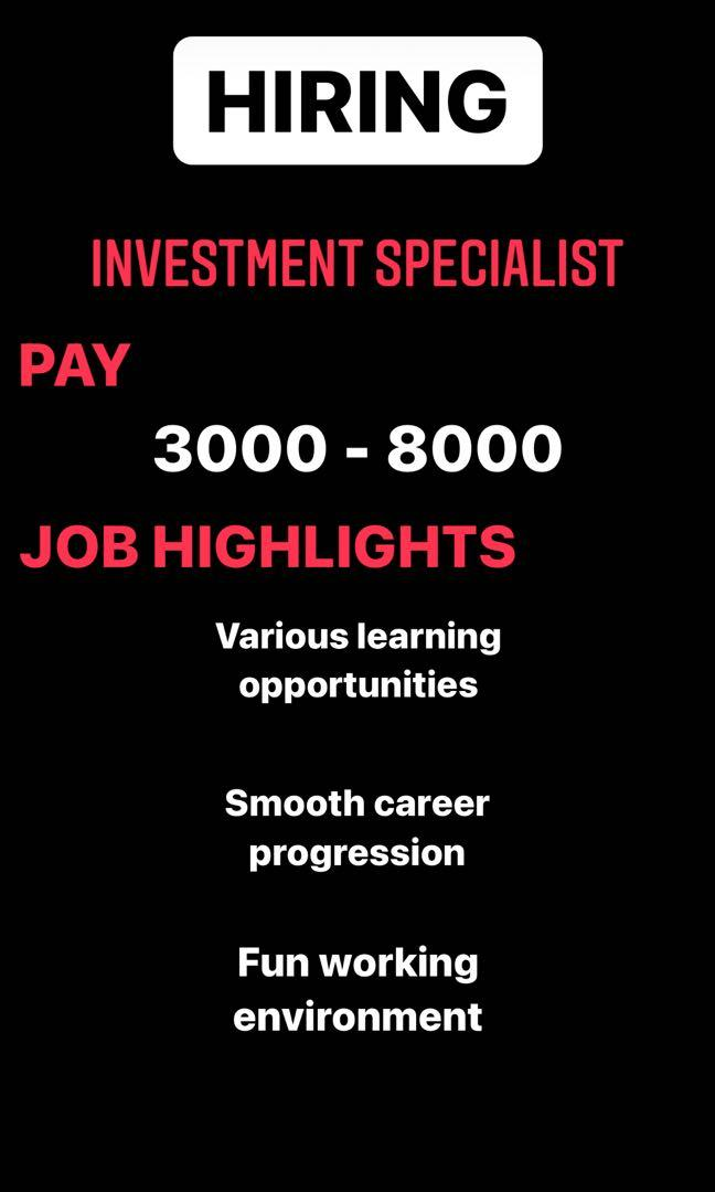 Investment Specialist