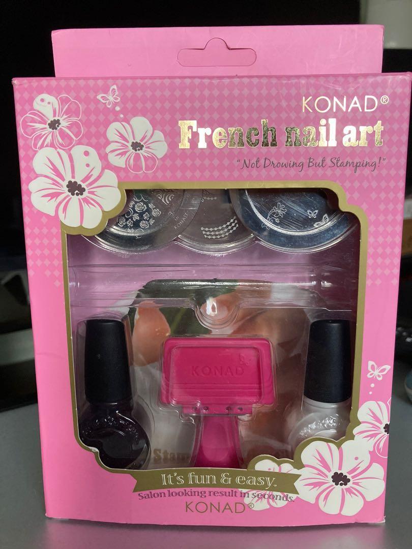 Konad French Nail Art Set