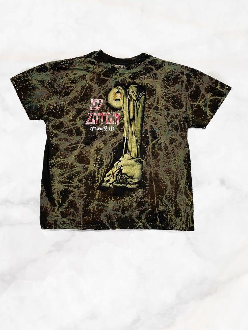 Led Zeppelin Tie Dye Custom