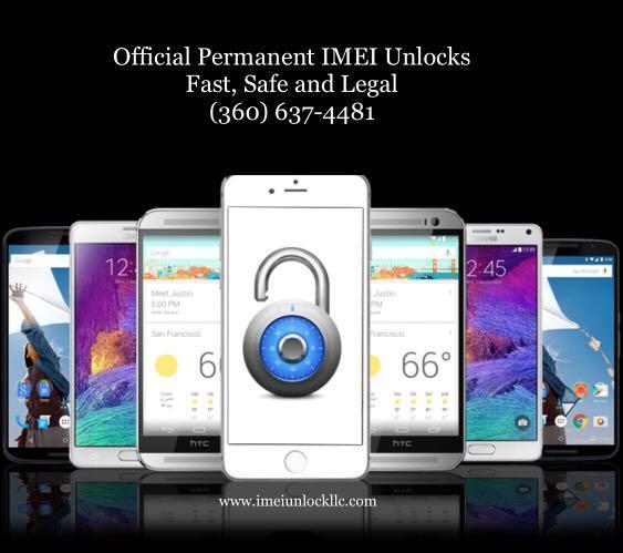 Official Permanent IMEI Unlocks