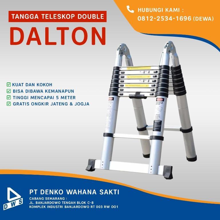 Tangga Lipat Teleskop Double / Dalton Multipurpose Telescopic Ladder