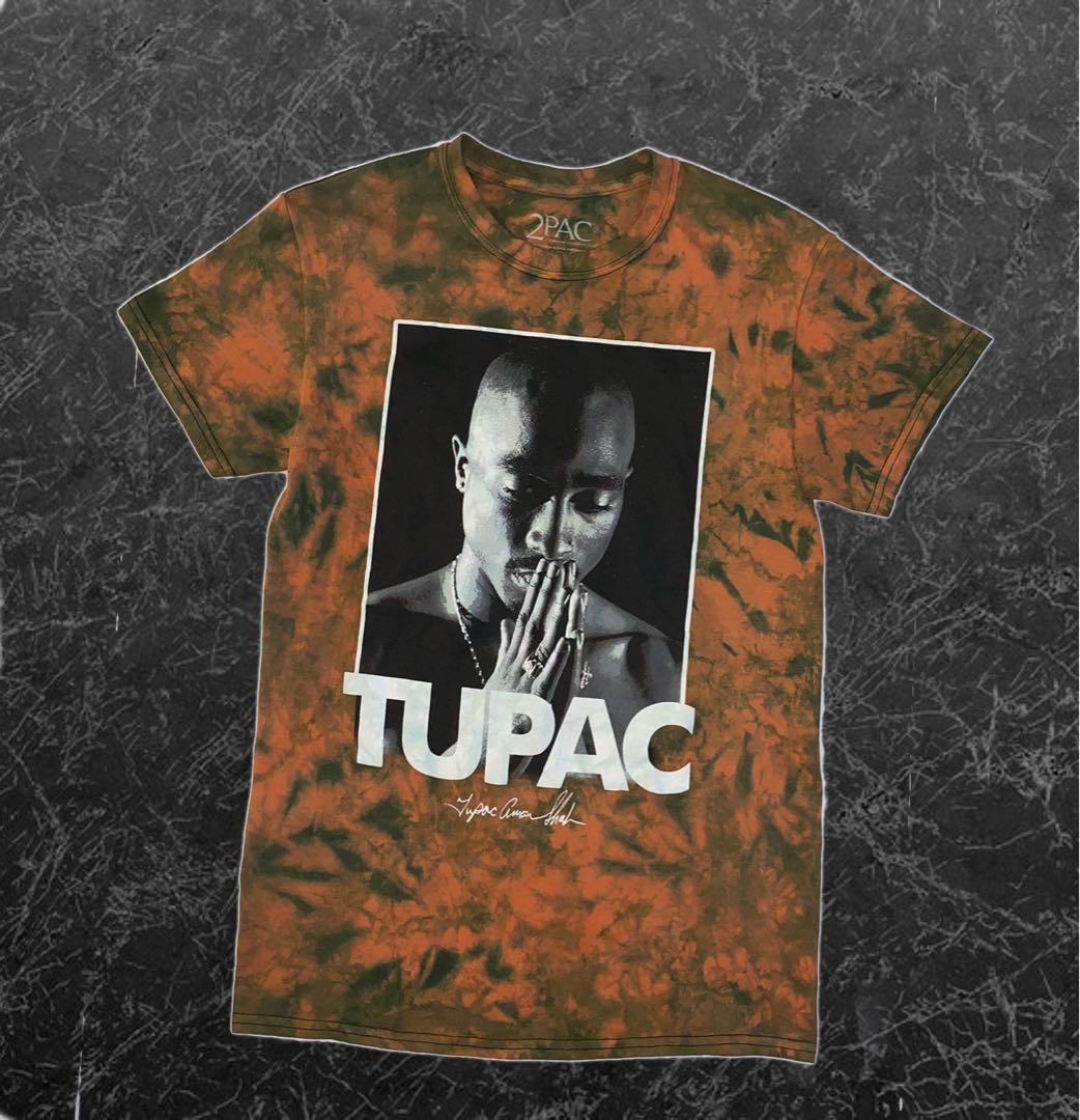 Tupac Tie Dye Custom Tee