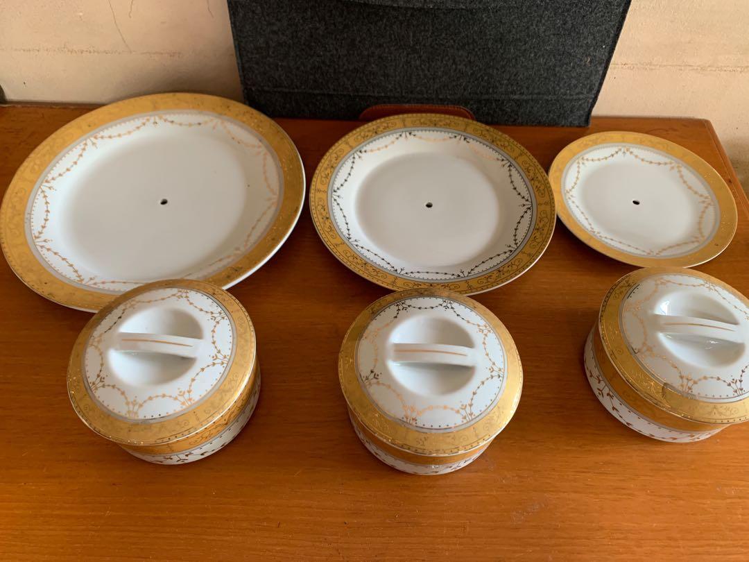 1 Set Piring Kue susun 3 VICENZA