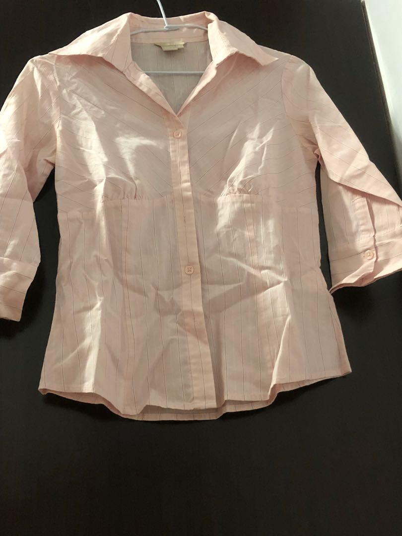 2021年🐂G2000粉紅色限量絕版襯衫顯瘦款100元
