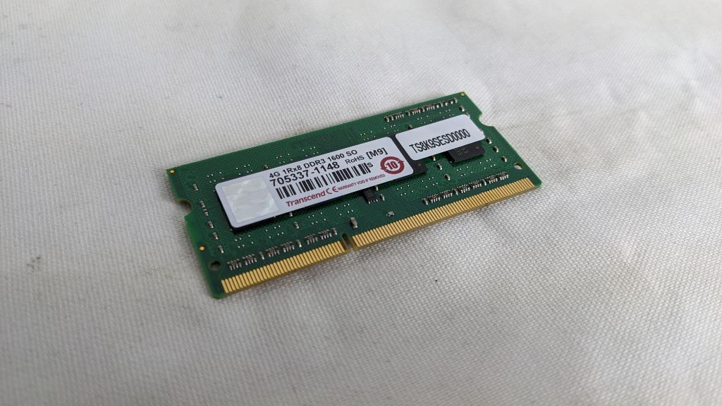 創見 4G DDR3 1600 SODIMM