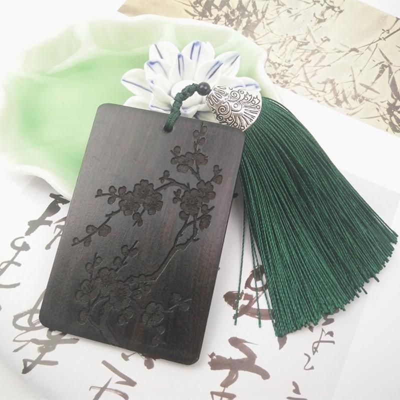 紫檀木書籤 新品