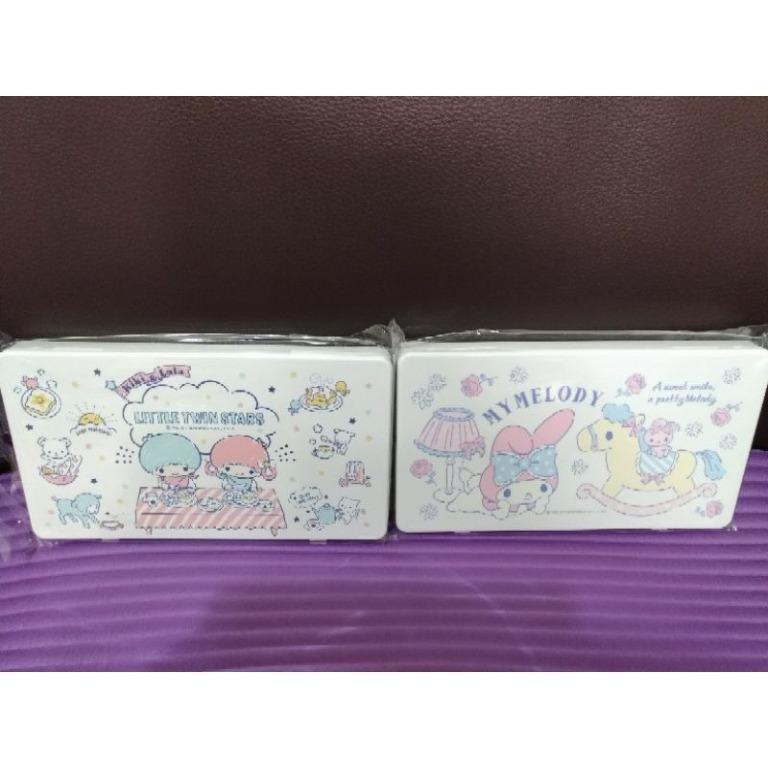 (單140)三麗鷗 雙星仙子 雙子星 美樂蒂 My Melody SANRIO口罩收納盒