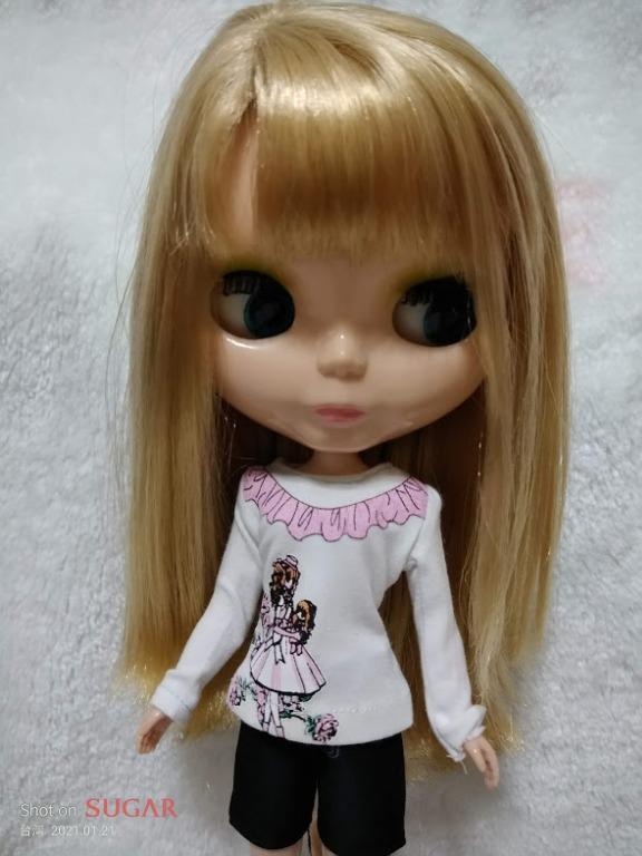 滿百元出貨  Blythe/小布/莉卡 小布可穿超萌印花娃衣