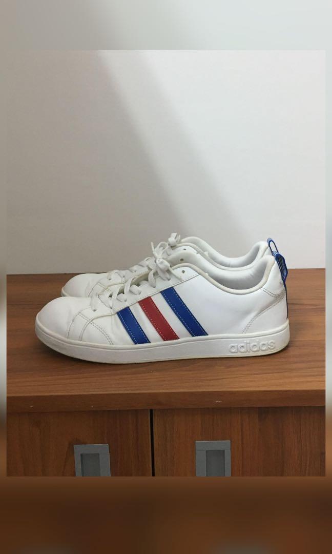 Adidas 白鞋 正版有鞋標 26.5cm
