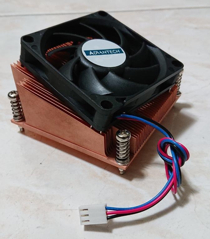 研華(Advantech) CPU風扇散熱器/LGA1155/純銅