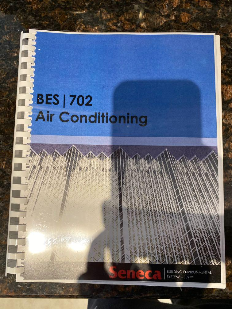 BES 702 - Air Conditioning