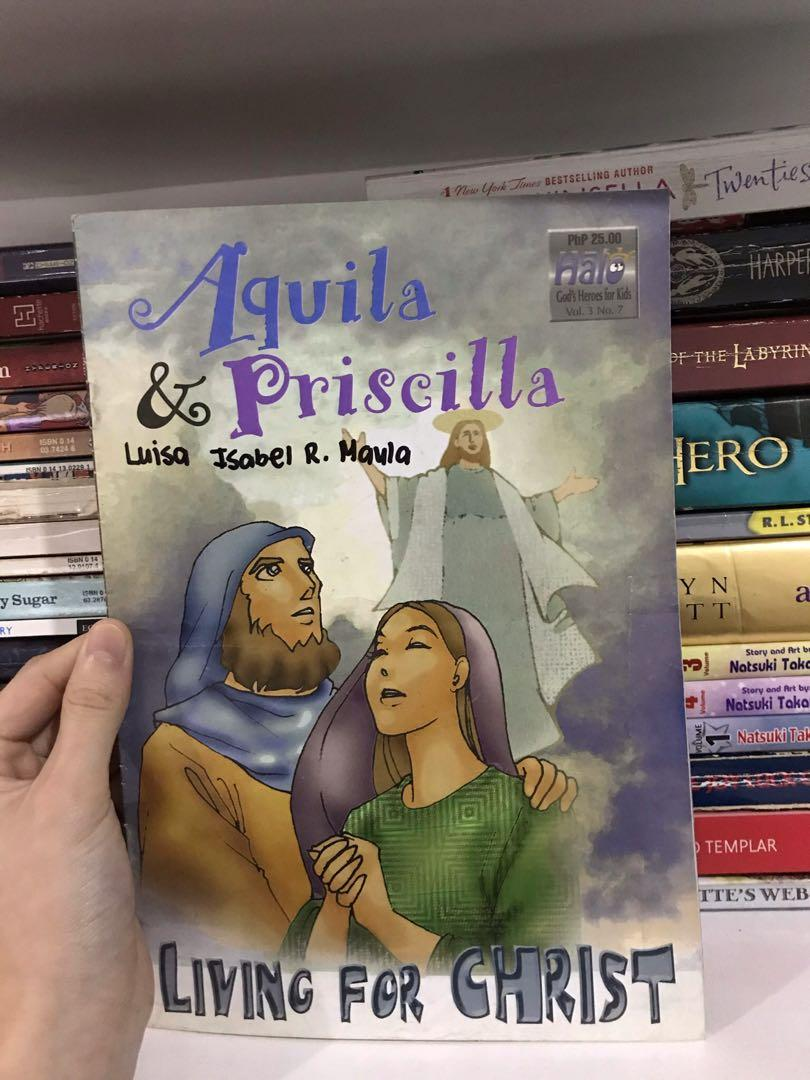 Aquila & Priscilla: Living for Christ / St. Anne, Patron of Homemakers (Volume 3, Number 7)