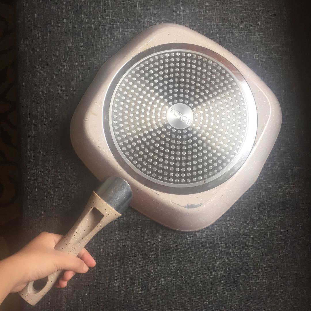 bolde frying pan 28cm like new teflon non stick anti lengket ceramic coating