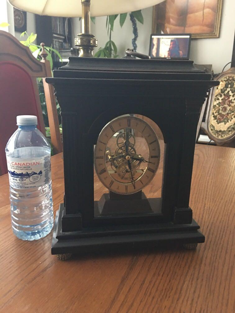 Bombay clock stopped  working As is