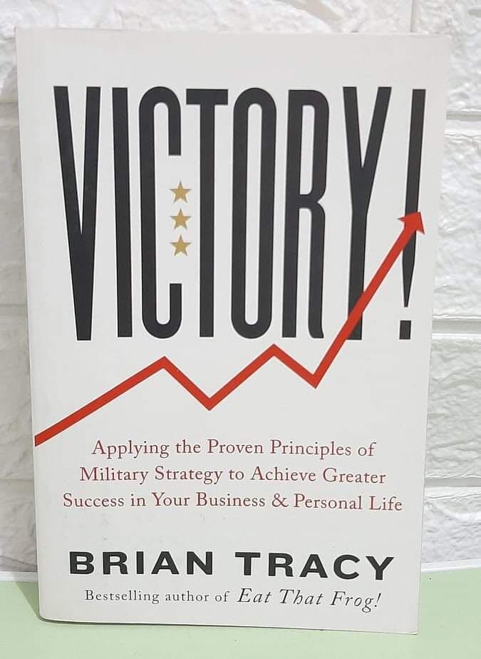 Brand New Book: VICTORY BY BRIAN TRACY