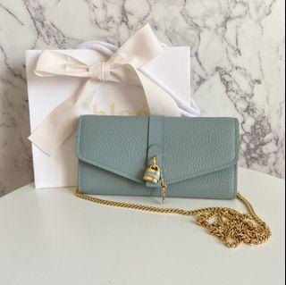 Chloe Aby padlock wallet on chain