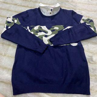 collared sweater rajut