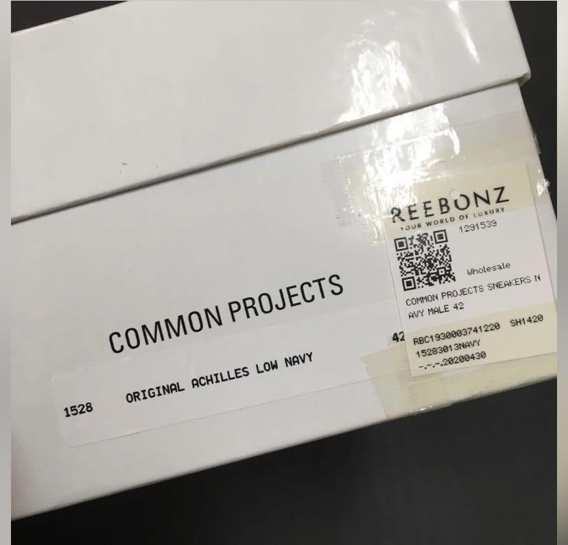 Common projects sneakers EU42