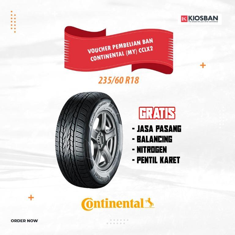 CONTINENTAL (MY) CCLX2 235 60 R18 Ban Mobil