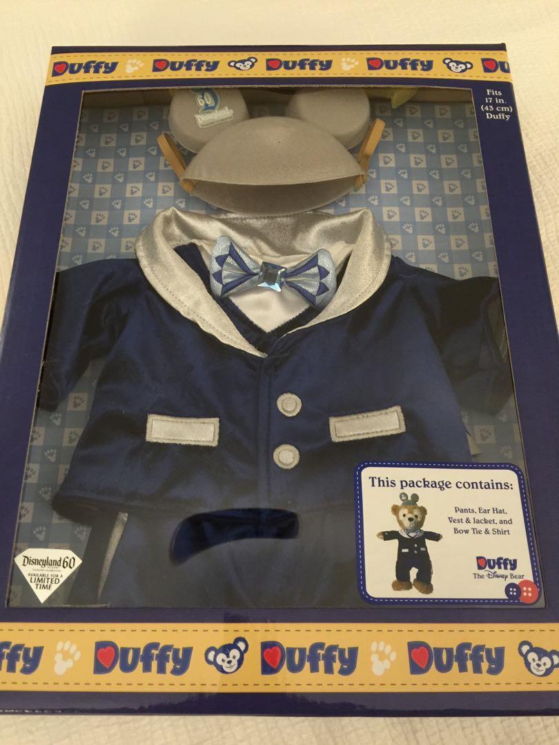 「自售」Disneyland 60週年美國帶回 Duffy 套裝限定禮盒