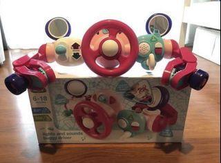 ELC Light n Sound Buggy Driver Pink