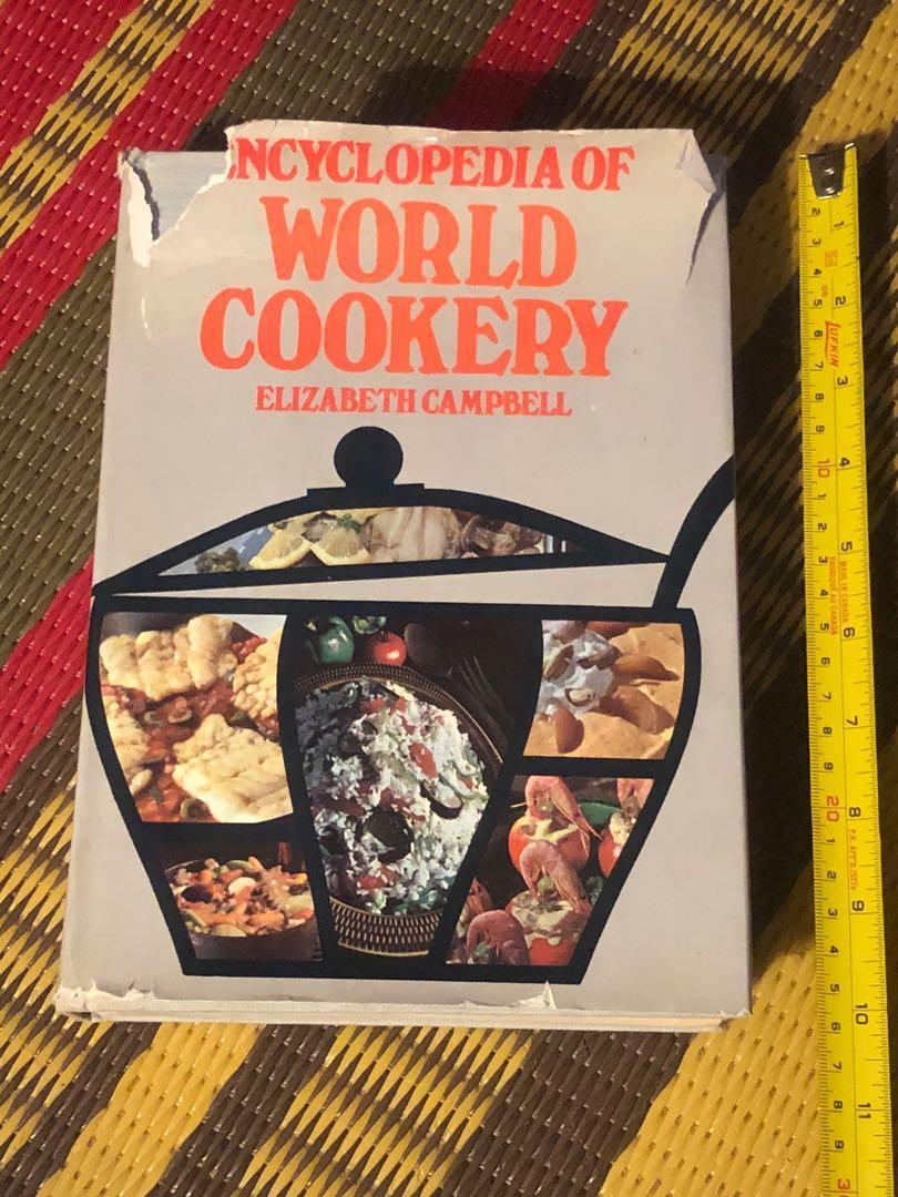 Elizabeth Campbell encyclopedia of world cookery
