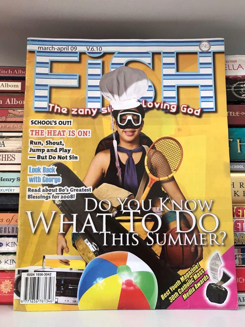 Fish Magazine: The Zany Side of Loving God Volume 6.10 (March-April 2009)