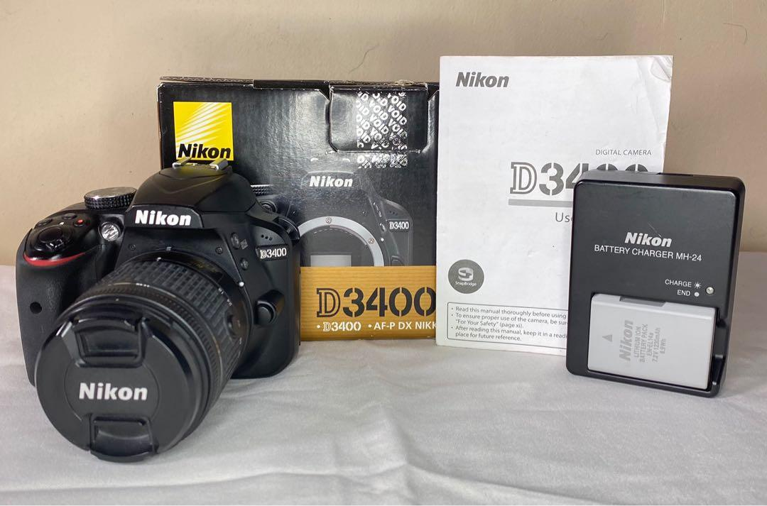 FS/FT Nikon D3400 with 18-55mm