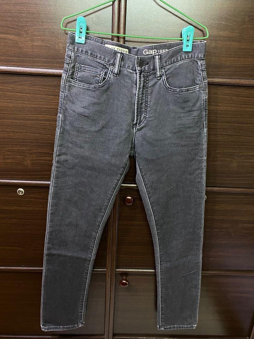 Gap 灰色牛仔褲