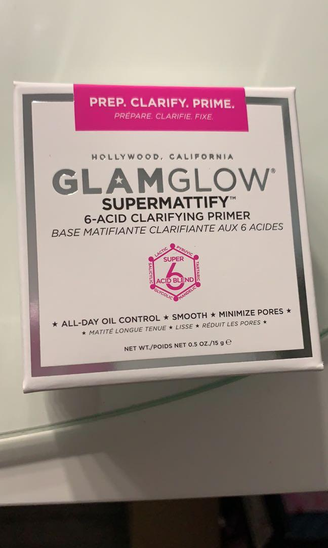 Glamglow supermattify oil control face primer