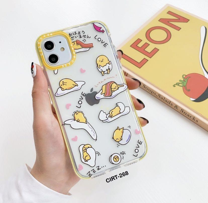 Gudetama - Anti Knock iPhone Case/ Anti Crack Soft Case iPhone